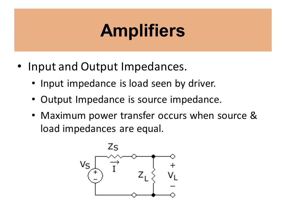 Amplifiers Vacuum Tube Amplifiers Each type of transistor amplifier circuit has a corresponding vacuum tube amplifier circuit.