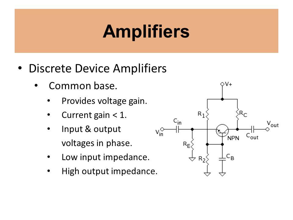 Signal Processing Detectors and Demodulators Detectors.