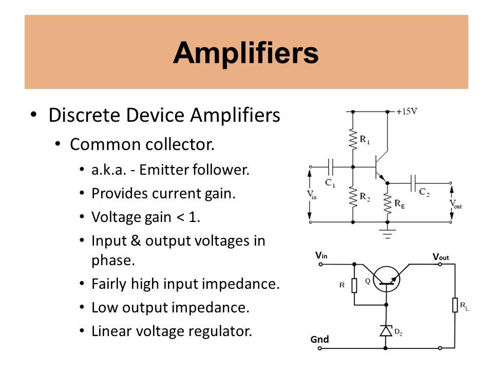Power Supplies Linear Voltage Regulators.Basic series regulator circuit.