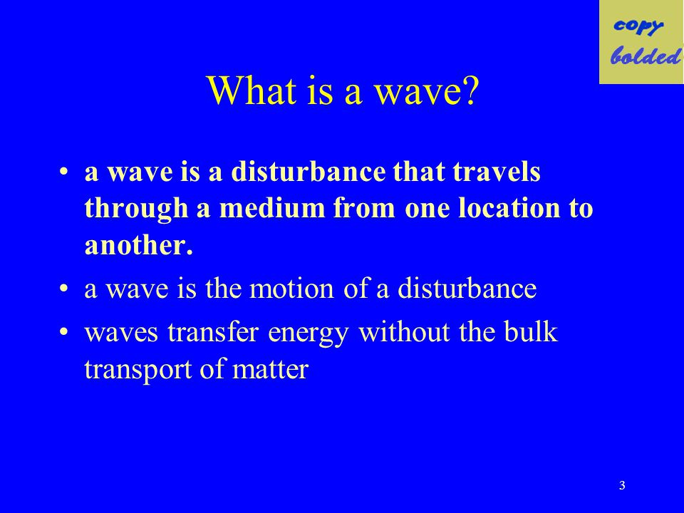 53 Constructive Interference Lets consider two waves moving towards each other, both having a positive upward amplitude.