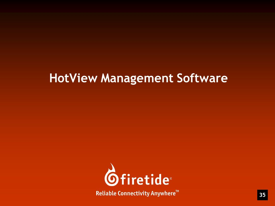 35 HotView Management Software