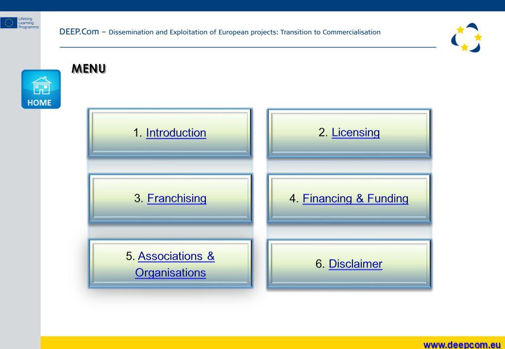 MENU www.deepcom.eu