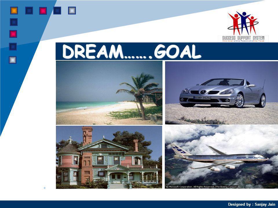 Designed by : Sanjay Jain DREAM…….GOAL