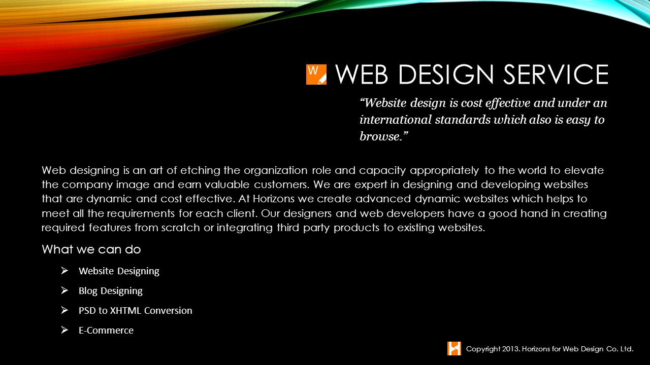 Web designing is an art of etching the organization role and capacity appropriately to the world to elevate the company image and earn valuable custom