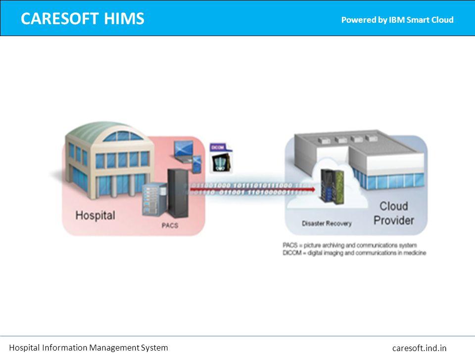 Hospital Information Management System caresoft.ind.in CARESOFT HIMS Powered by IBM Smart Cloud