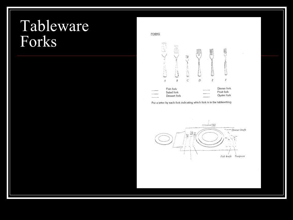 Tableware Forks