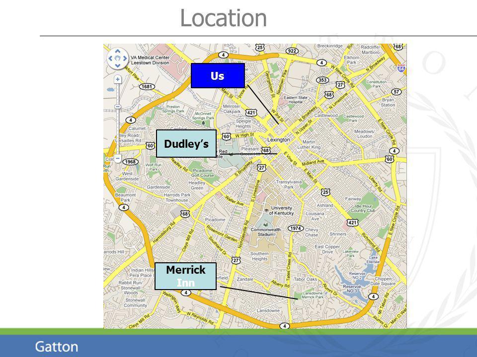 Us Merrick Inn Dudleys Location