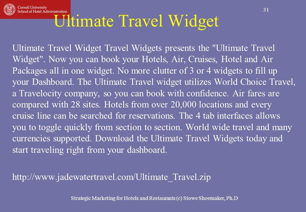 31 Ultimate Travel Widget Ultimate Travel Widget Travel Widgets presents the