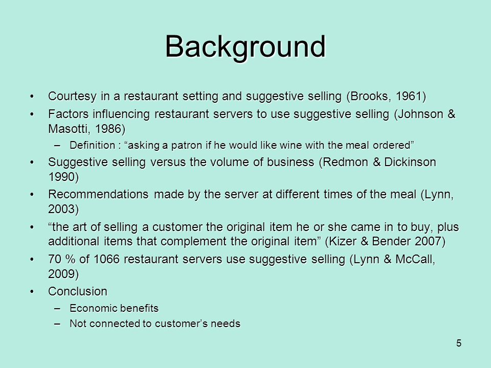 Conclusion Marketing my productsMarketing my products Marketing to the customerMarketing to the customer Marketing with the customerMarketing with the customer 16