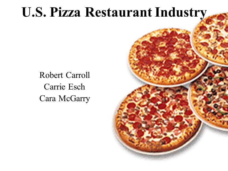 U.S. Pizza Restaurant Industry Robert Carroll Carrie Esch Cara McGarry