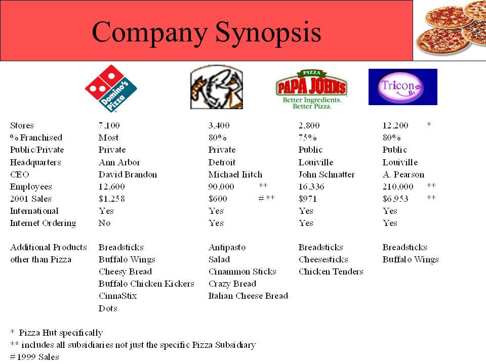 Company Synopsis