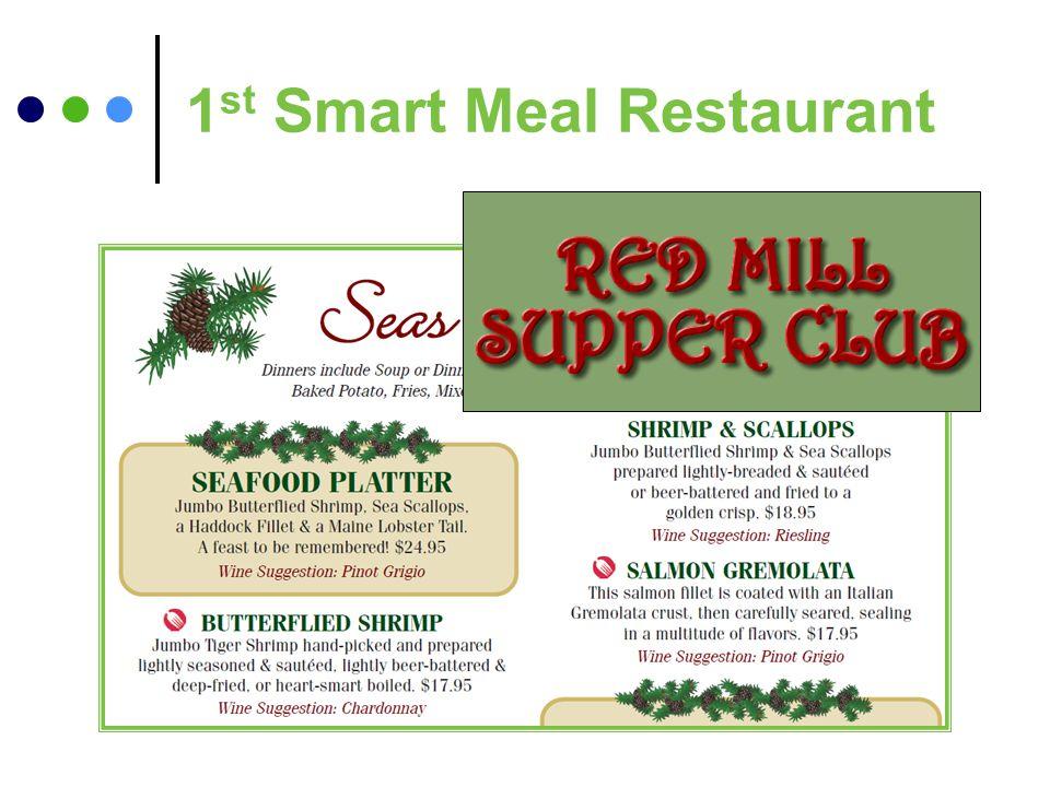 1 st Smart Meal Restaurant
