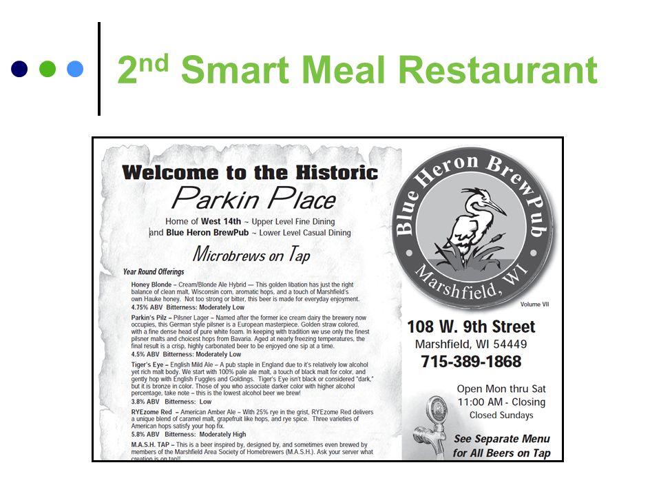2 nd Smart Meal Restaurant