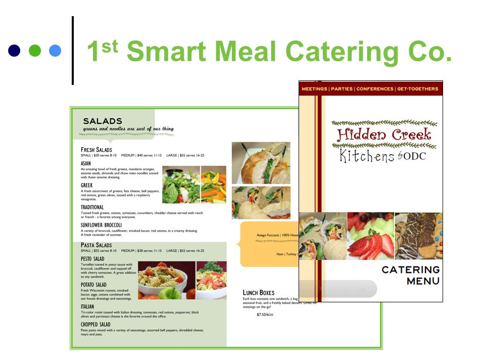 1 st Smart Meal Catering Co.