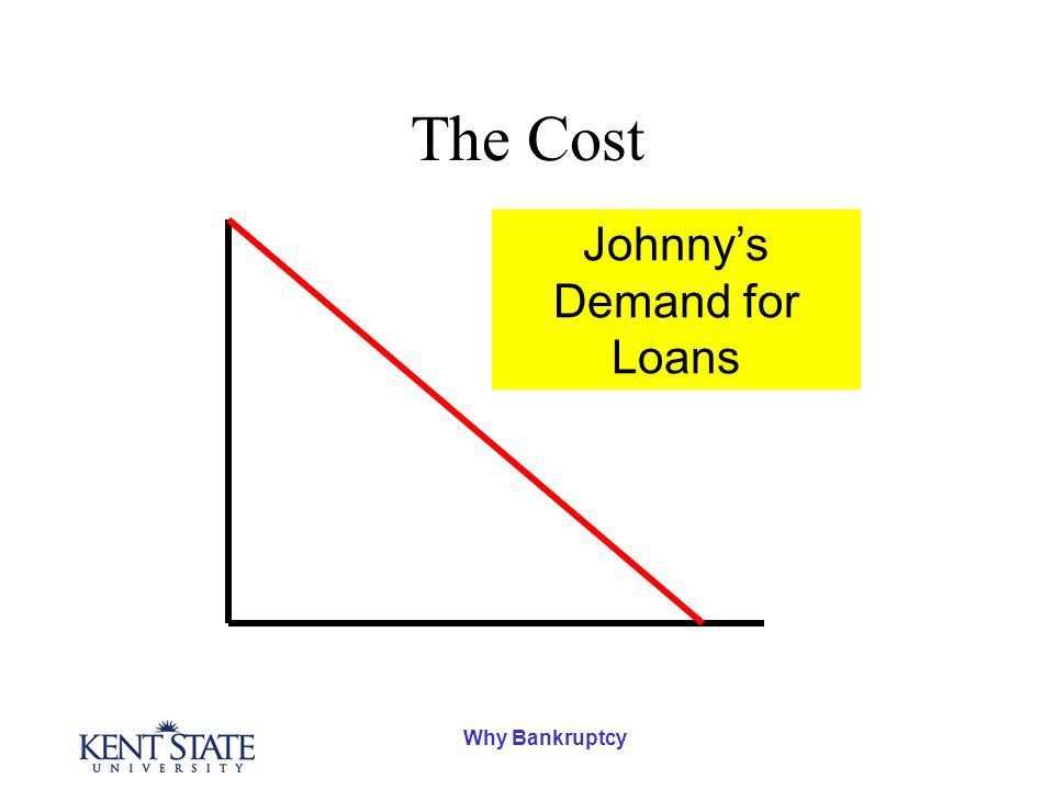 Why Bankruptcy The Cost Johnnys Demand for Loans