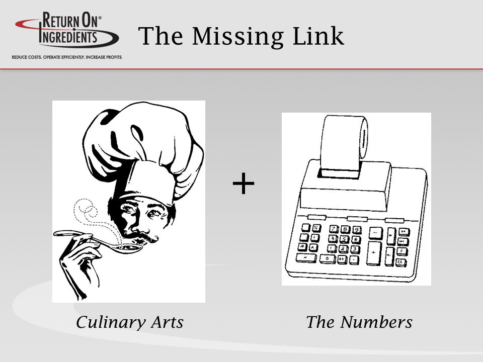 The Missing Link + Culinary ArtsThe Numbers