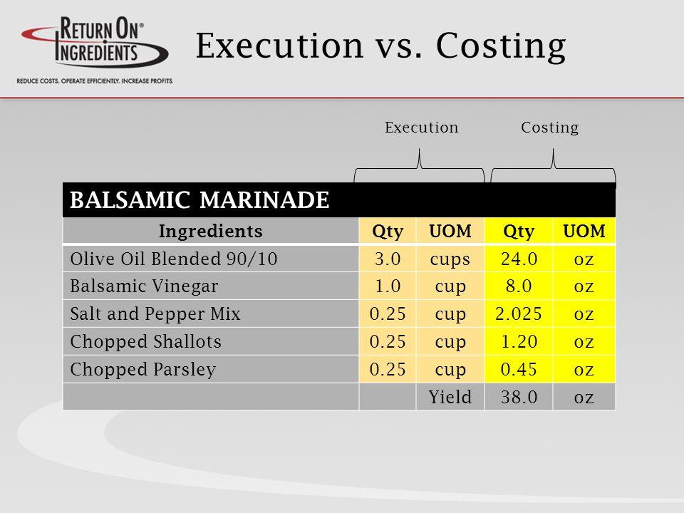 Execution vs.