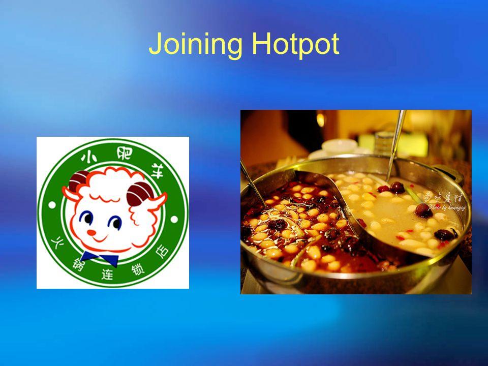 Joining Hotpot