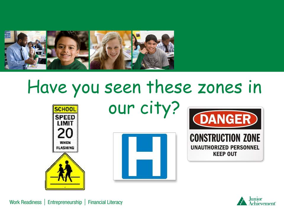 Have you seen these zones in our city?