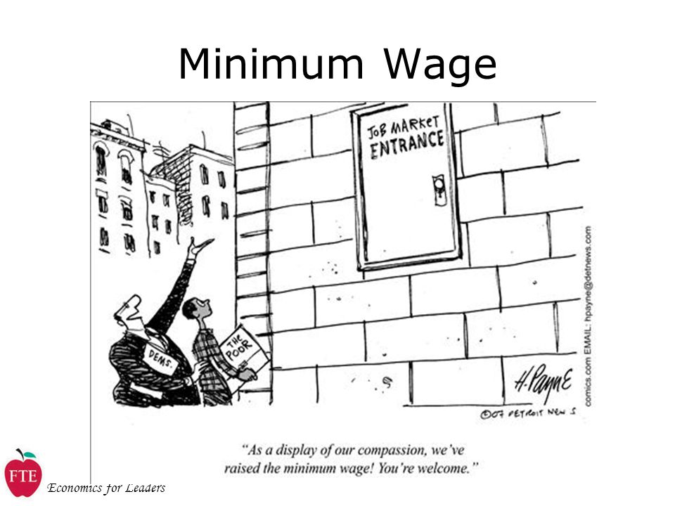 Economics for Leaders Minimum Wage