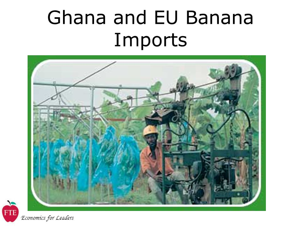 Economics for Leaders Ghana and EU Banana Imports