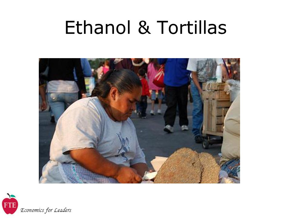 Economics for Leaders Ethanol & Tortillas