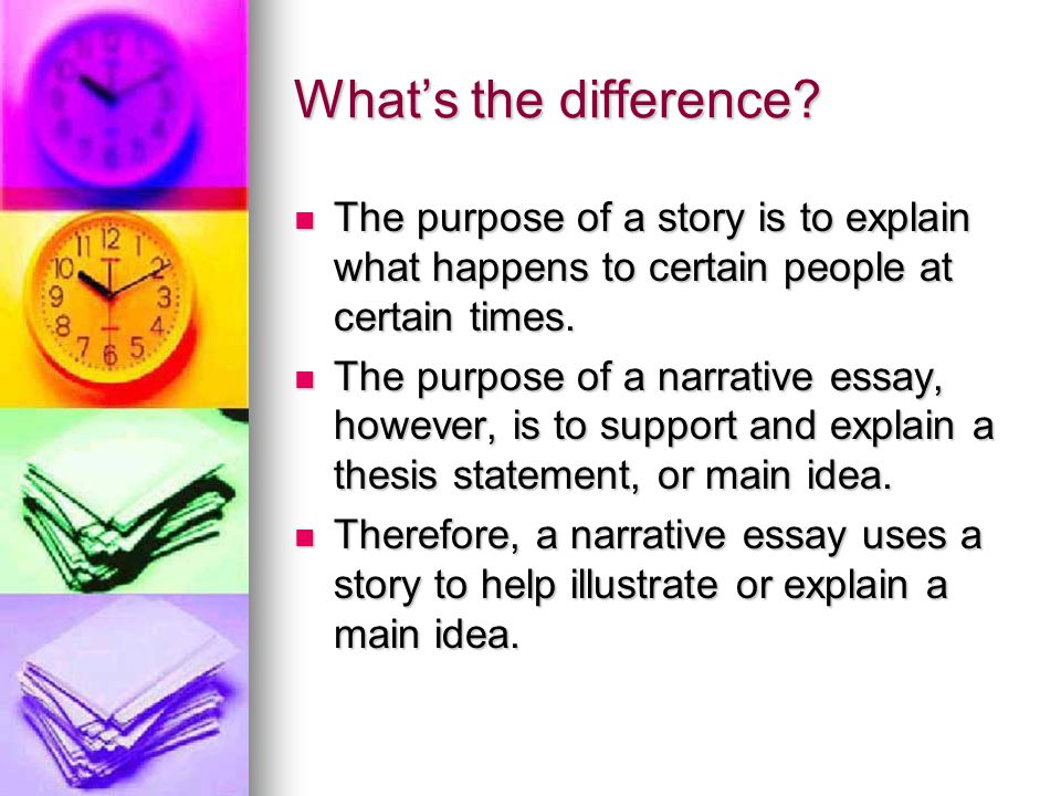 Narrative Essay Introduction Example