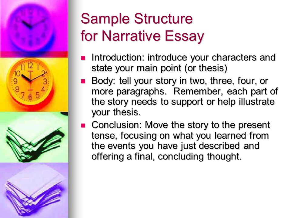 Structures Of Narrative Essay