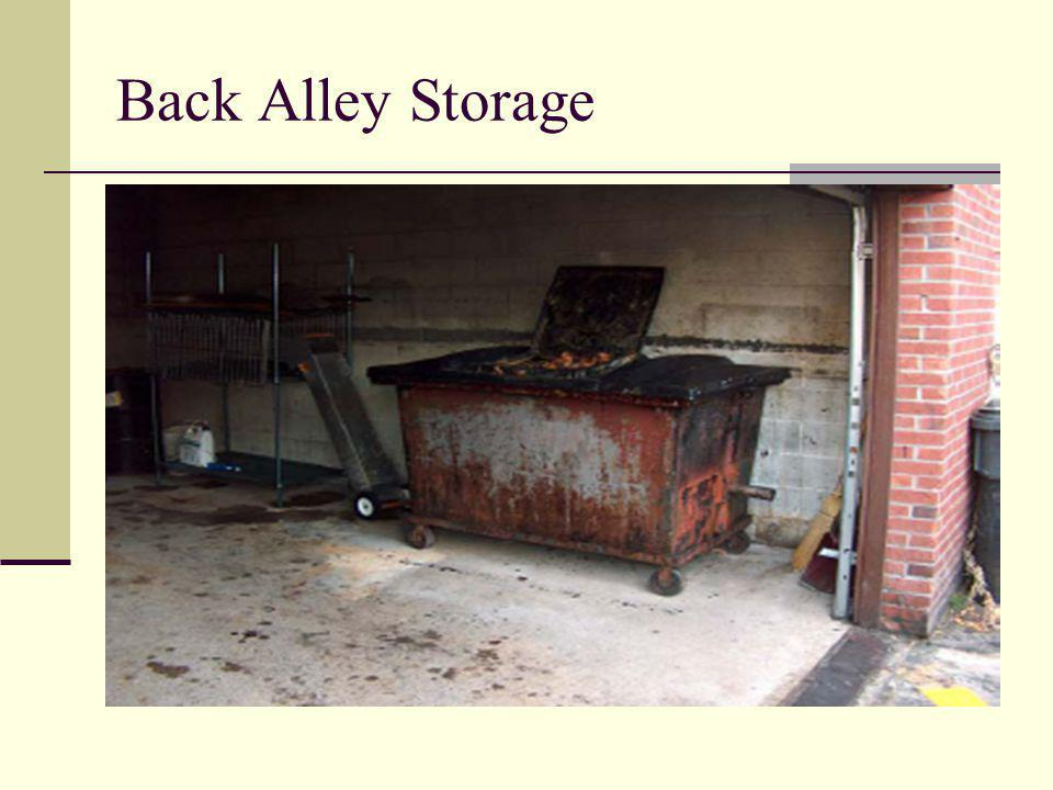 Back Alley Storage