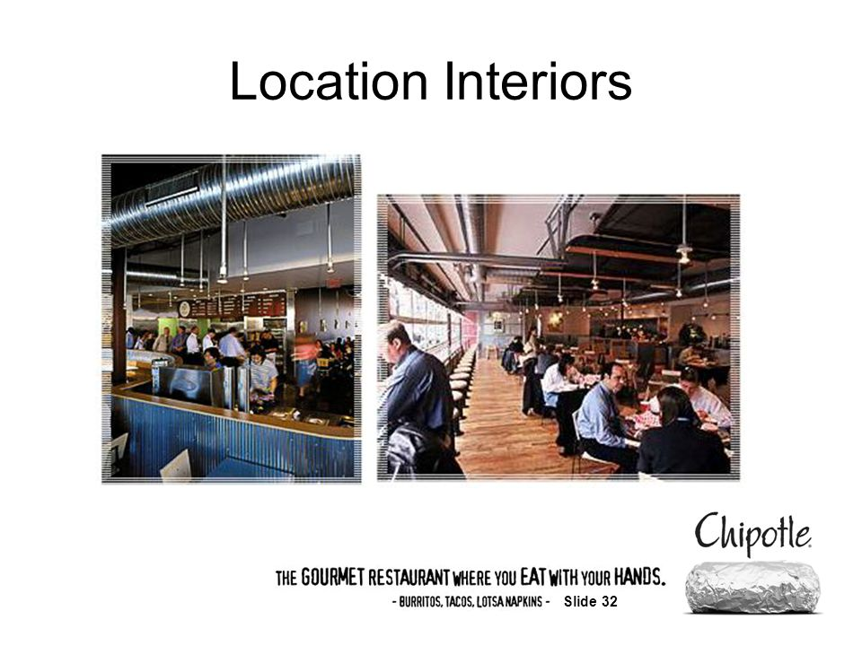 Slide 32 Location Interiors