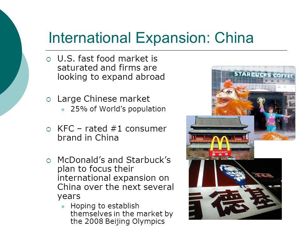 International Expansion: China U.S.