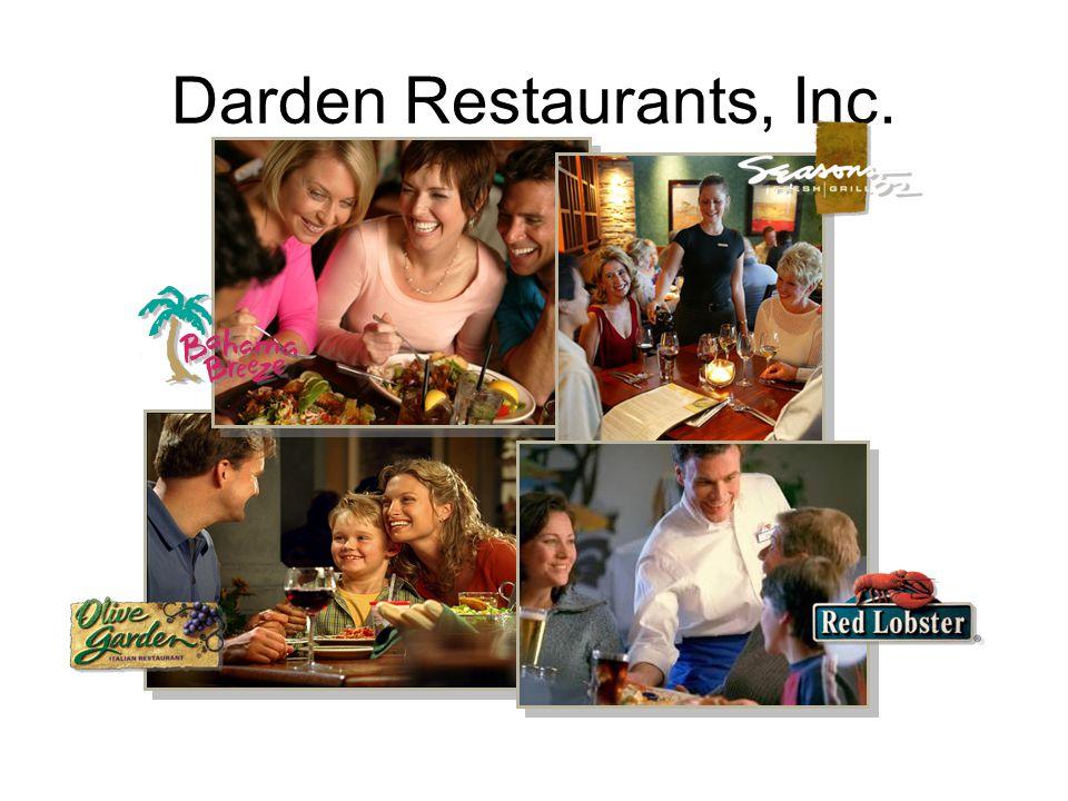 Darden Restaurants, Inc.