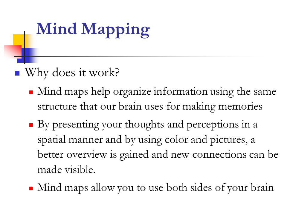 Mind Mapping Why does it work.