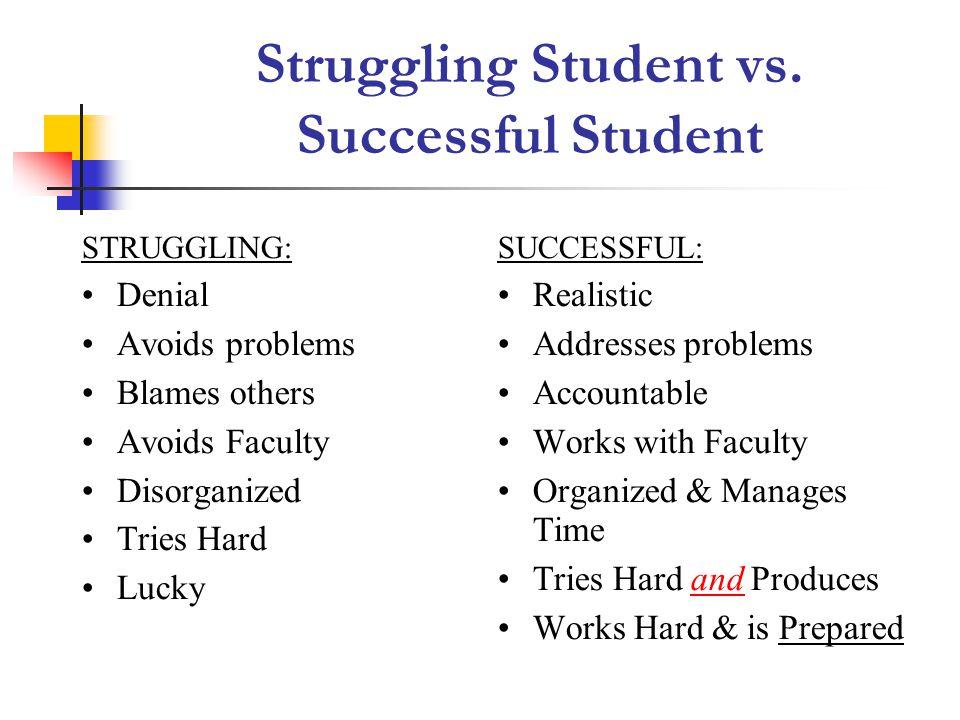 Struggling Student vs.