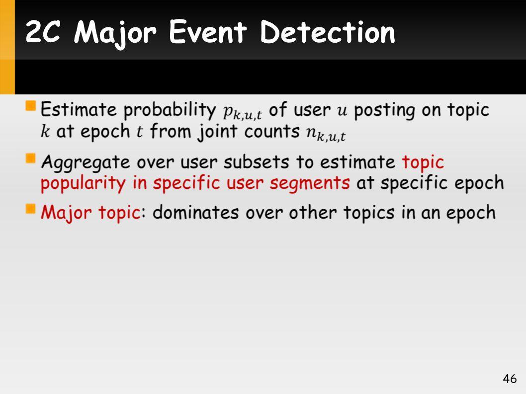 2C Major Event Detection 46