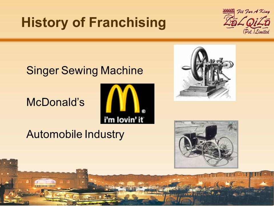 TYPES OF FRANCHISE Main types of Franchise: Product Distribution Franchise Business Format Franchise Management Franchise