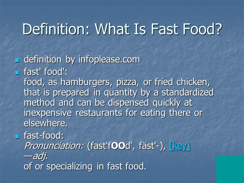 Focus I: Hamburger (I) definition by infoplease.com definition by infoplease.com hamburger Pronunciation: (ham bûr gur), [key]n.
