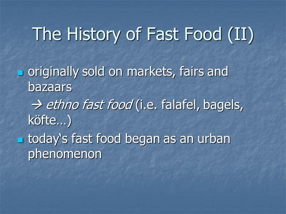 Healthy Fast Food.