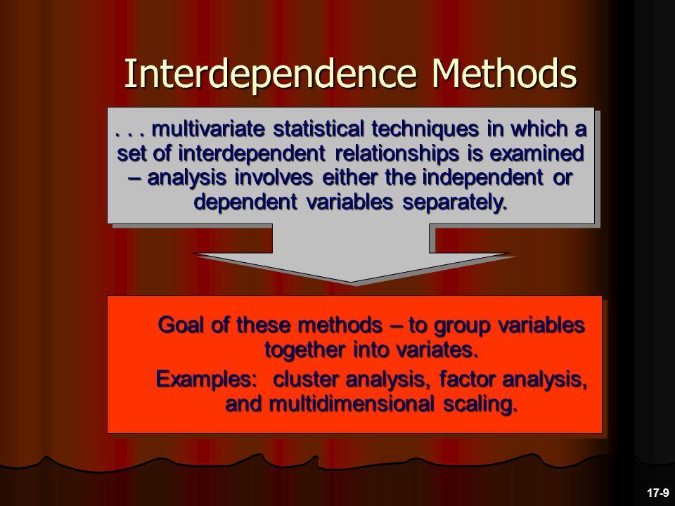 Factor Analysis Purpose – to simplify the data.