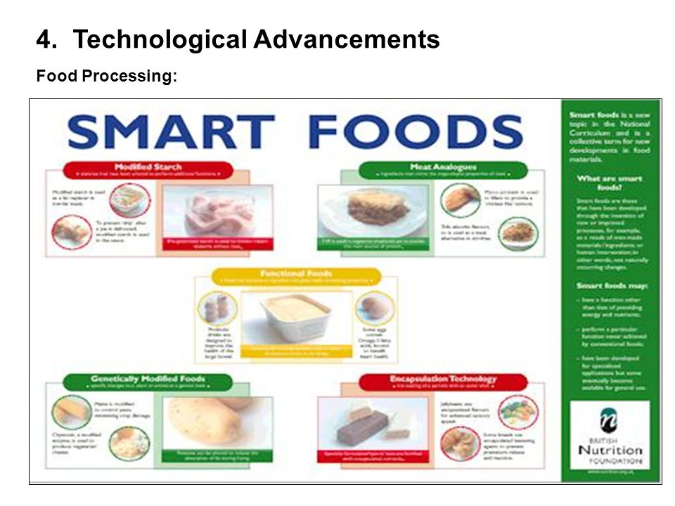 4. Technological Advancements Food Processing: