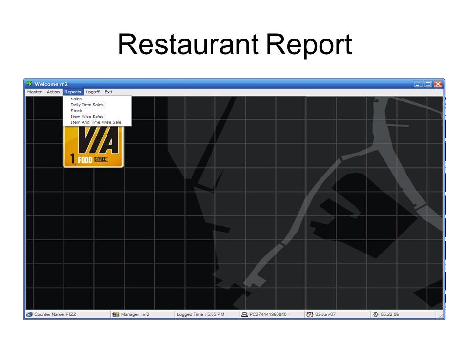 Restaurant Purchase Management