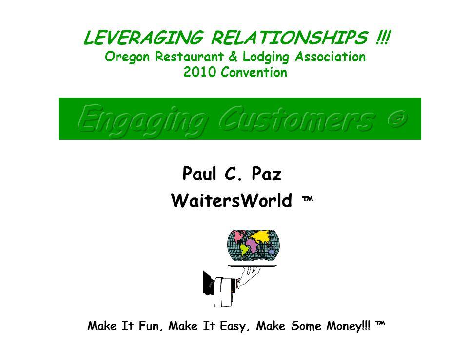 Make It Fun, Make It Easy, Make Some Money!!.Paul C.