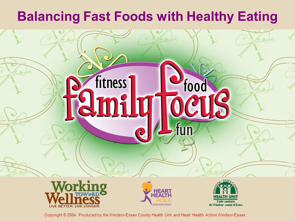 More Resources Latest Health Issues newsletter Family Focus Latest brochure Weighing in on Family Health Other electronic presentations Focusing on Better Family Eating Habits Families on the Move No Kids of Your Own to be a Role Model For?
