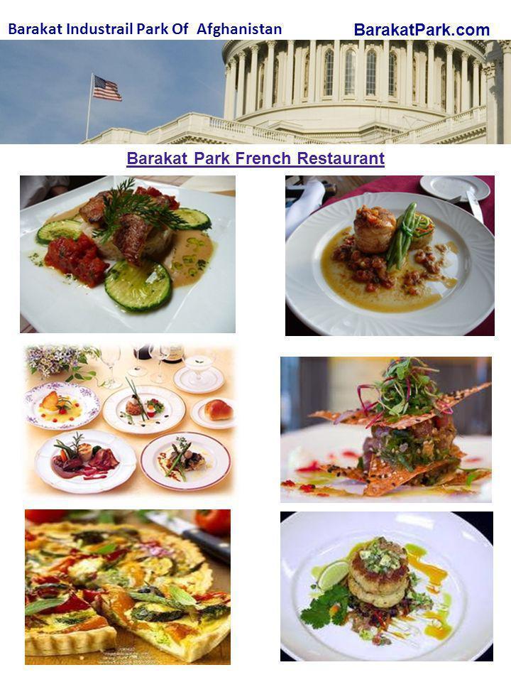 BarakatPark.com Barakat Industrail Park Of Afghanistan Barakat Park French Restaurant
