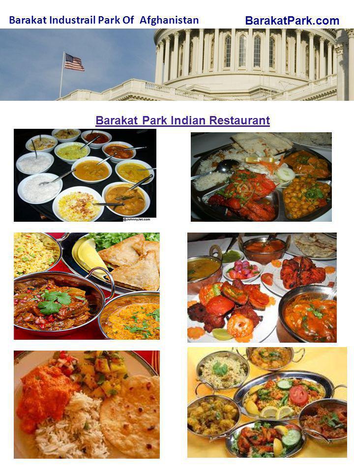BarakatPark.com Barakat Industrail Park Of Afghanistan Barakat Park Indian Restaurant
