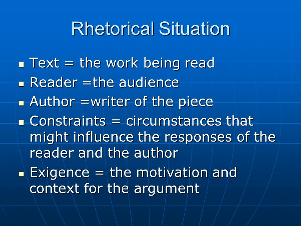 Apply Rhetorical Analysis You may choose a restaurant advertisement, another type of advertisement, a provocative piece of art, a political cartoon, or a YouTube argument.