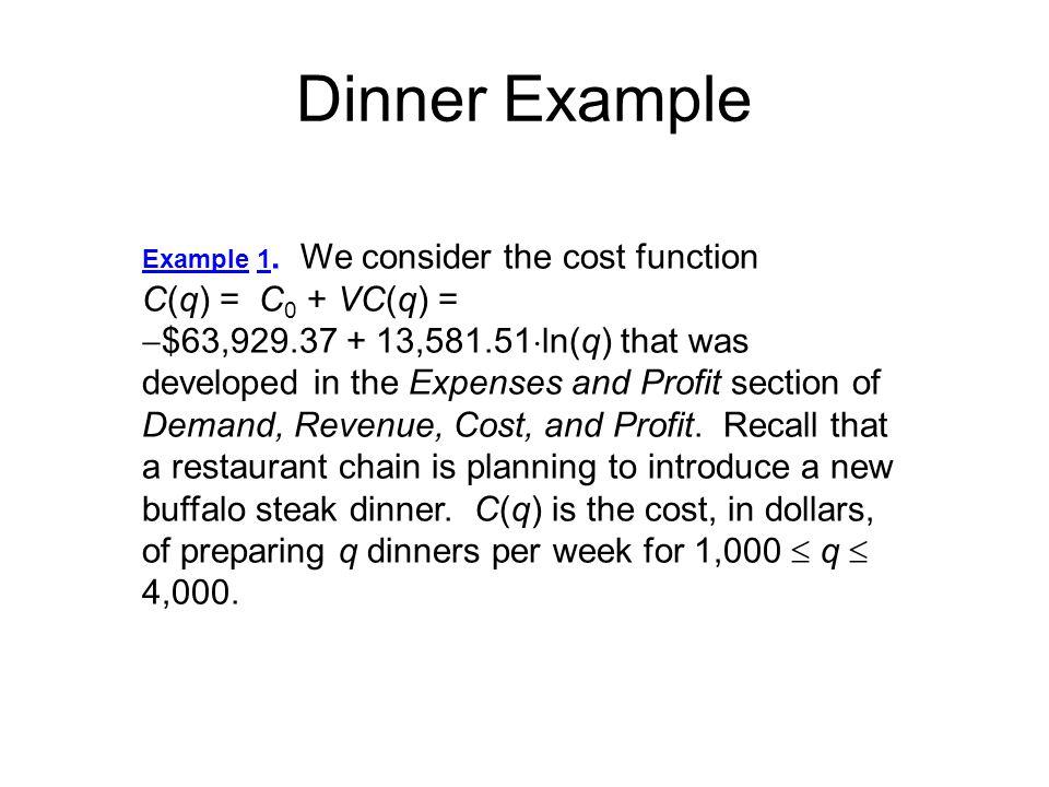 15 Recall:Revenue function-R(q) Revenue in million dollars R(q) Why do this conversion.