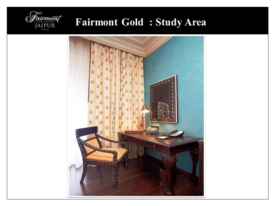 Fairmont Gold : Study Area