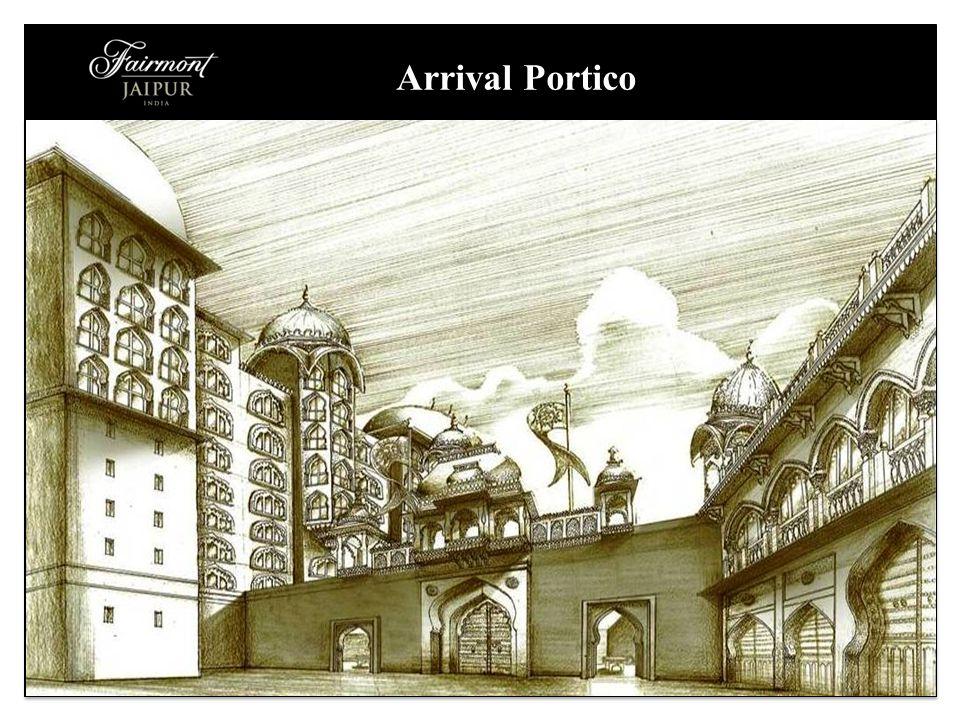 Arrival Portico