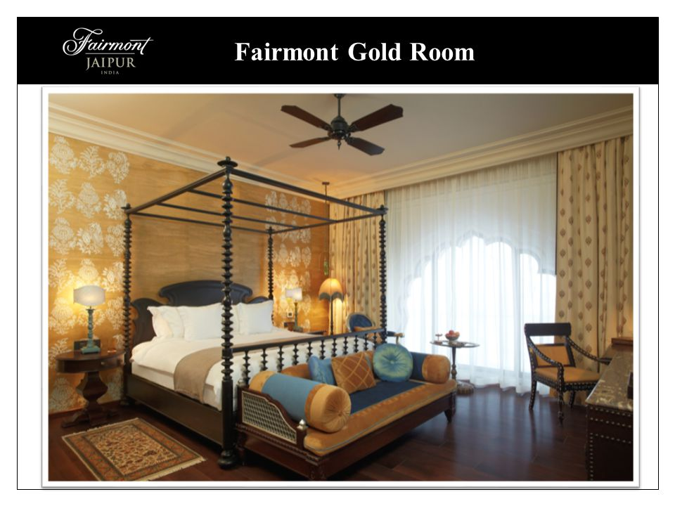 Fairmont Gold Room